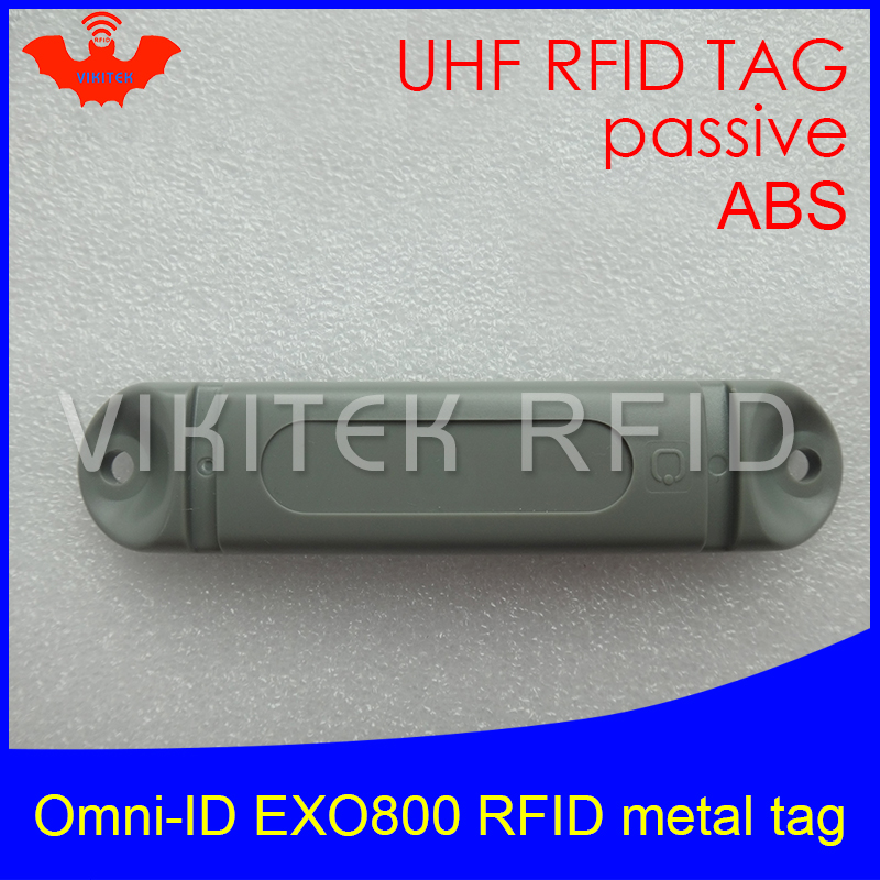 UHF RFID anti-metal tag omni-ID EXO 800 EXO800 915mhz 868mhz Impinj Monza4QT EPCC1G2 6C durable ABS smart card passive RFID tags фигурка planet of the apes action figure classic gorilla soldier 2 pack 18 см