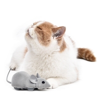 Hot Cute APP Pet Cat Mouse Racer Pet Cat Toys Interactive Electric Moving Funny Lifelike Mice Bluetooth Wireless Training Kitten