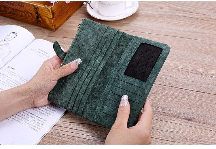 Материал Подкладки:: Синтетическая Кожа; Пол:: Женщины; фиолетовый кошелек;