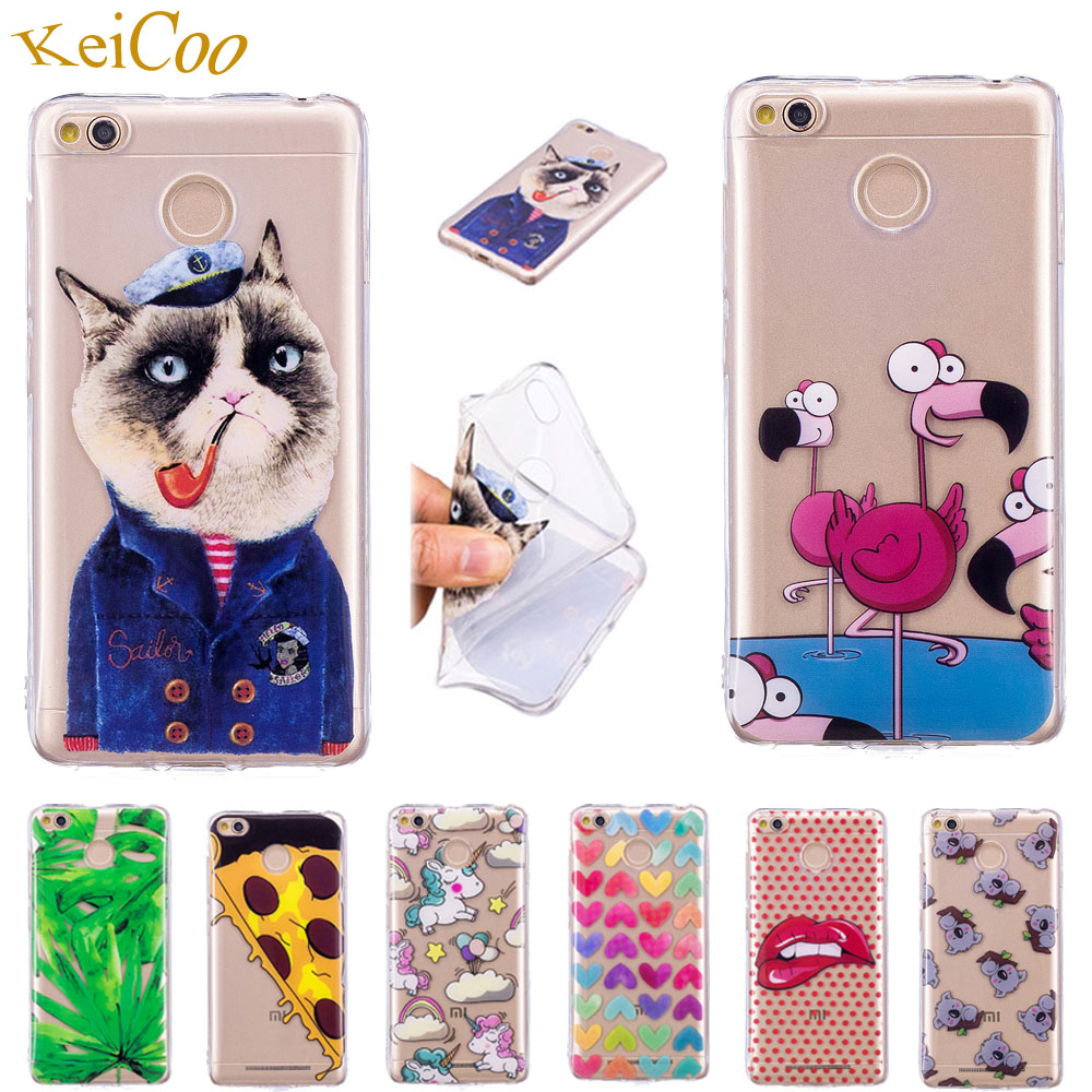 Transparent IMD TPU Phone Cases Covers For Xiaomi Redmi 4X Global Cases Covers On For Redmi 4X Dual SIM MAE136 MAG138 32GB Cases