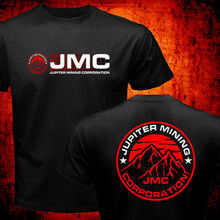 Nova Série Anã Vermelha Júpiter Mining Corporation Jmc Empresa Espaço Corps 2019 Venda Quente Super Moda Masculina O Pescoço Casuais camisa de T