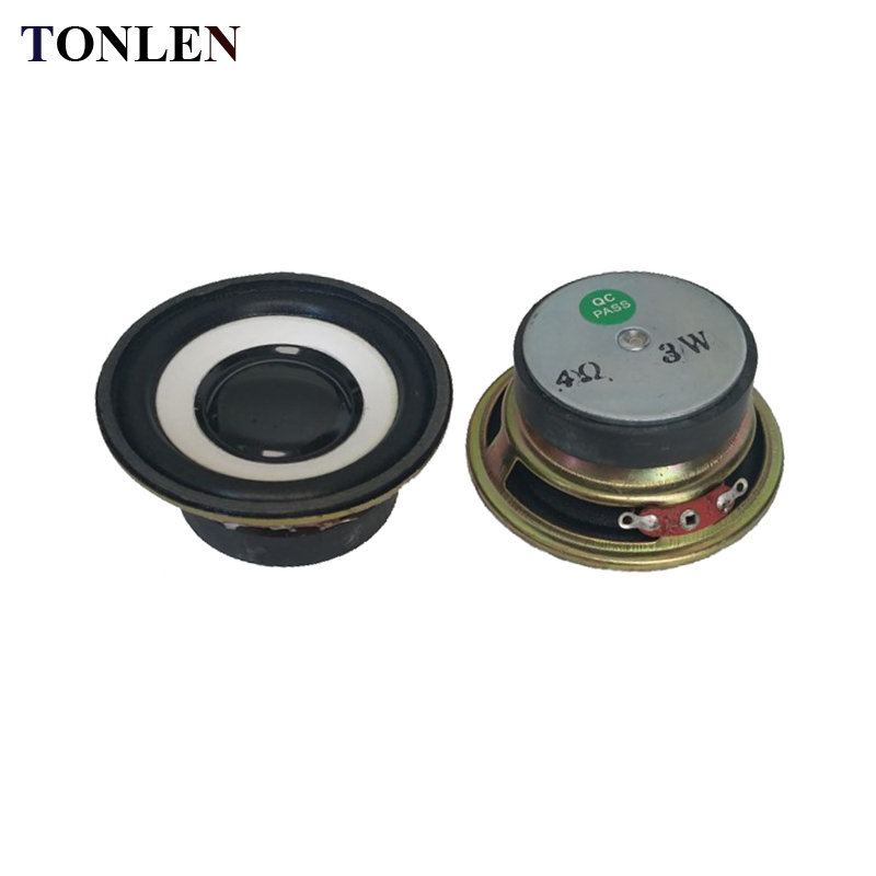 mini Speaker Small Audio Amplifier FDUS Round speaker 3W 4R 3 watts 4 ohms