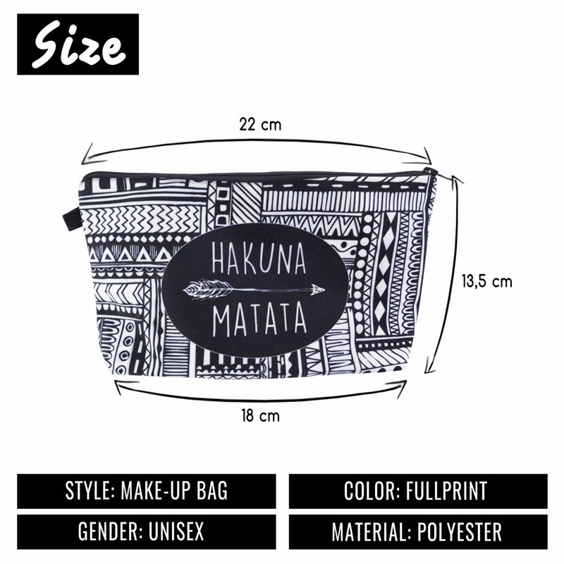 Jom Tokoy 3D Printing Makeup Bags With Multicolor Pattern Cute Cosmetics Pouchs For Travel Ladies Pouch Women Cosmetic Bag 1