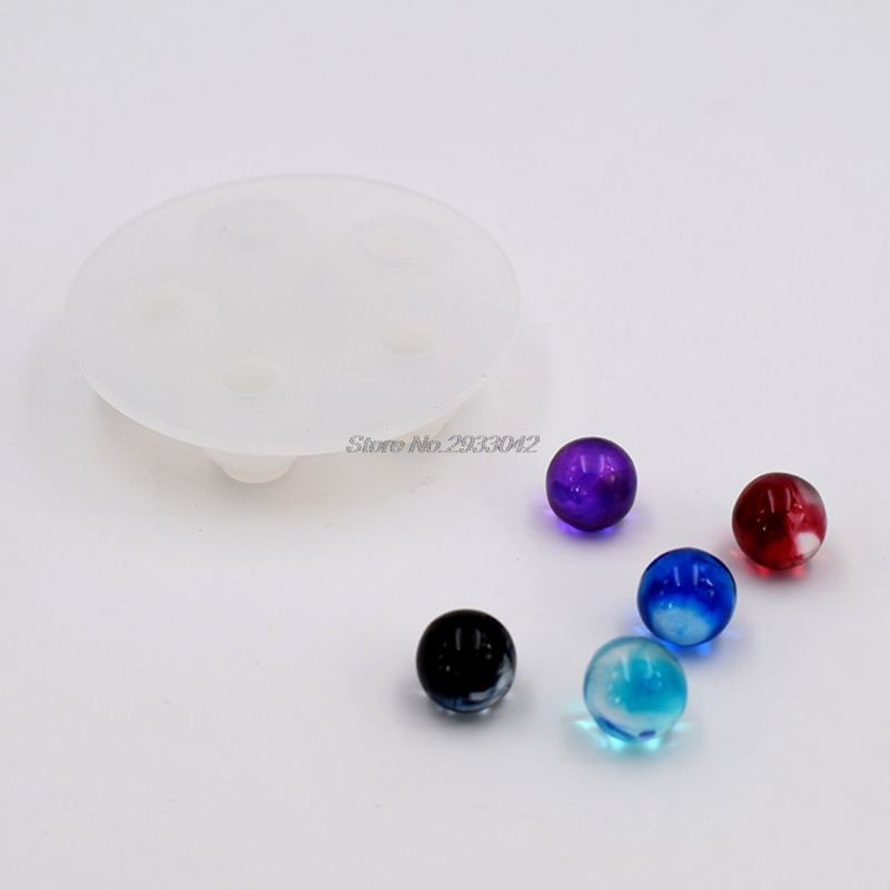 Ball Shape Silicone Necklace Pendant Jewelry Mold Casting Making DIY Resin Craft -W128