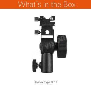 Image 2 - Godox Type D Flash Hot Shoe Paraplu Houder Beugel Voor Speedlite