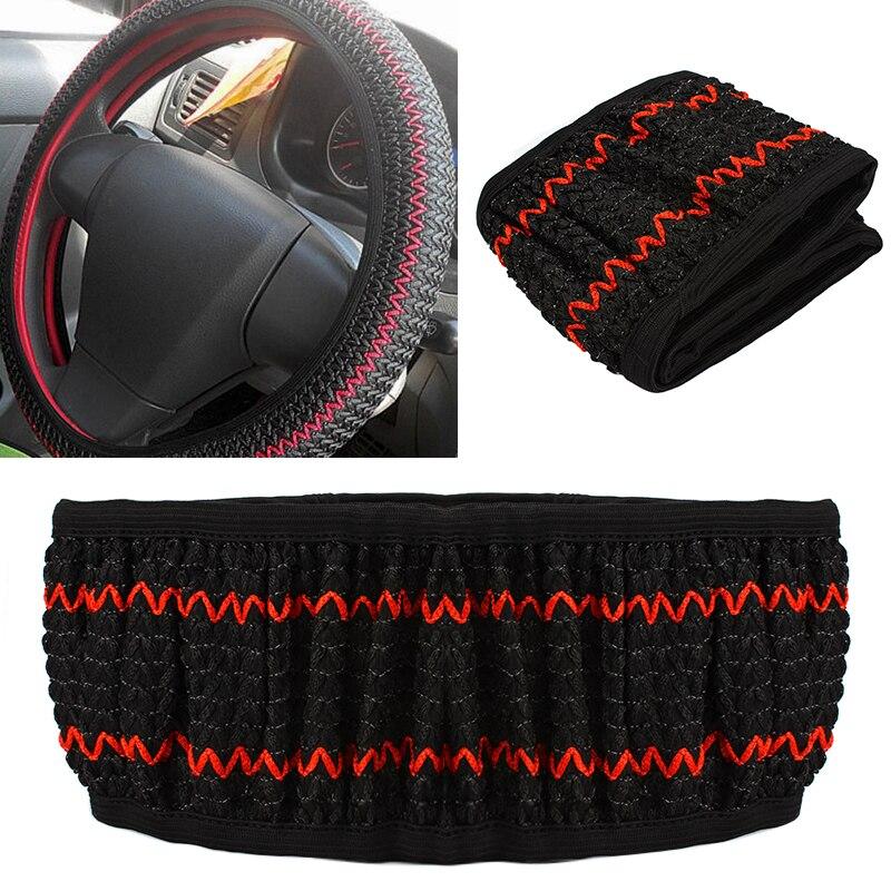 Cubierta universal del volante del coche Seda de hielo Summer Helper - Accesorios de interior de coche - foto 2