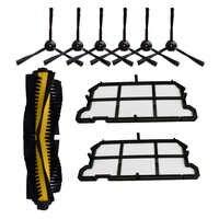 Main Brush Hepa Filter Side Brush Replacement Kit for Chuwi ilife V7 V7S V7S PRO Robot Vacuum Cleaner Accessories