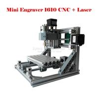 RUSSIA FREE TAX Disassembled Pack Mini CNC 1610 2500mw Laser CNC Machine Pcb Wood Carving Machine