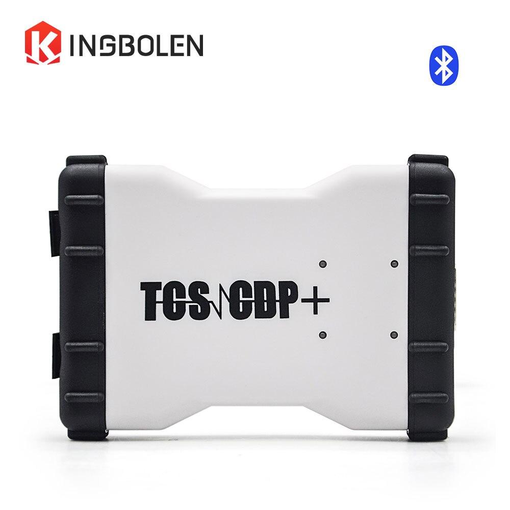 Prix pour Nouveau VCI Super CDP TCS pro 2014 R2 R3 Bluetooth Keygen Multi-langue de voiture/camion/Générique 3 IN1 Scanner livraison activer via email