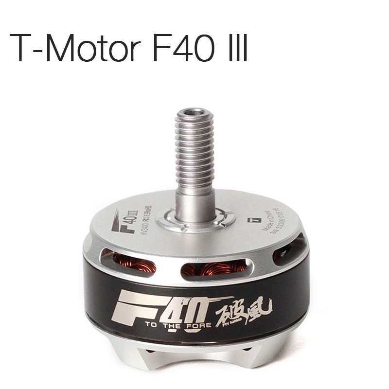 цена на T-Motor F40 III 2306 2400KV 2600KV 2750KV Brushless Motor For 210 220 250 260 RC Drone FPV Racing Multi Rotor