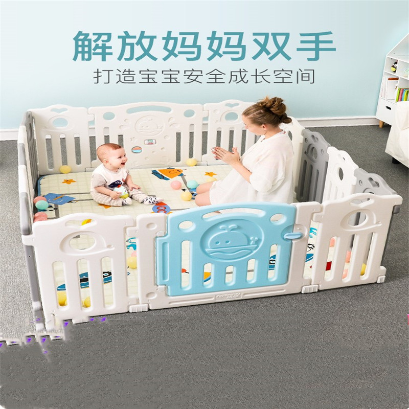 baby playpen Safety Fence Childrens Play Fence Baby Fence Home Baby Indoor Crawling Mat Toddler Playards Baby
