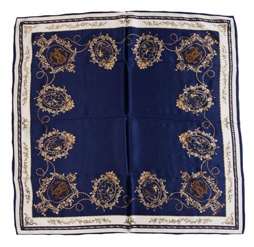 ELEGANT HANDMADE BRAND 100%Twill Silk Scarf CREC-19365D