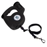 5m Retractable Dog Leash Pet Dog Belt Light Pick Up Bag Pet Retractor Puppy Dog Outdoor