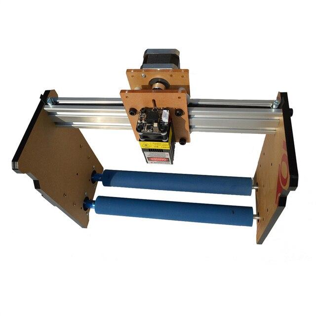2000/3000/5500/7500/10000 mw צילינדר טור מיני לייזר חריטת מכונת DIY בית תפאורה CNC עץ נתב חרט קאטר מכונת