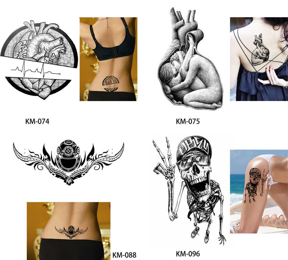 Glaryyears 13 видов конструкций 1 лист поддельный эскиз водонепроницаемый татуировка