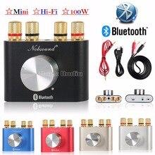2017 Latest Nobsound Hi-Fi Bluetooth 4.0 Digital  Amplifier Stereo 2.0 Channel  Mini TPA3116 High-power AMP 50W*2  Free Shipping