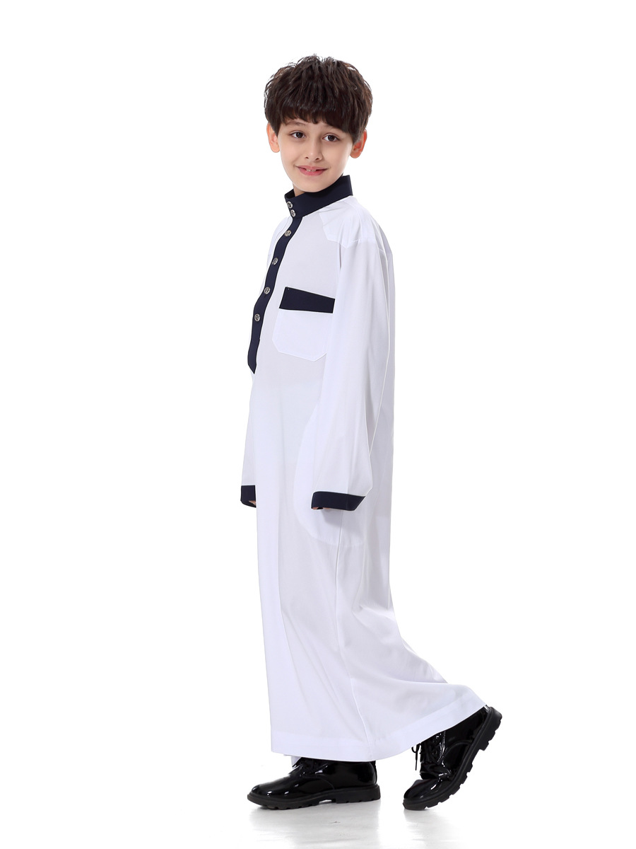 2018 Muslim Clothing Cotton Men New Children Products Sell Like Hot Cakes Childrens Wear Robes Youth Hui Ethnic Costumes