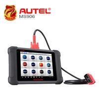 Autel MaxiSys MS906 Автомобильная диагностика Полной Системы MS 906 сканер мощнее, чем MaxiDAS DS708 онлайн обновление