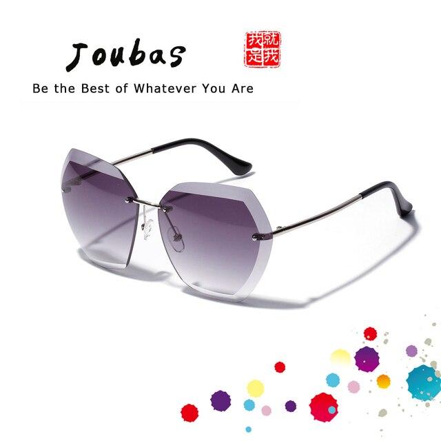 Joubas Rimless Najmodniejsze Okulary dla Kobiety Luksusowe Okulary Przeciwsłoneczne 2019 Polaryzacyjne jak Gucci