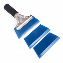 EHDIS 2pcs Squeegee Spare Blade and 1pc Water Wiper Squeegee Car Auto Snow Car Cleaner Window Vinyl Tinting Tool