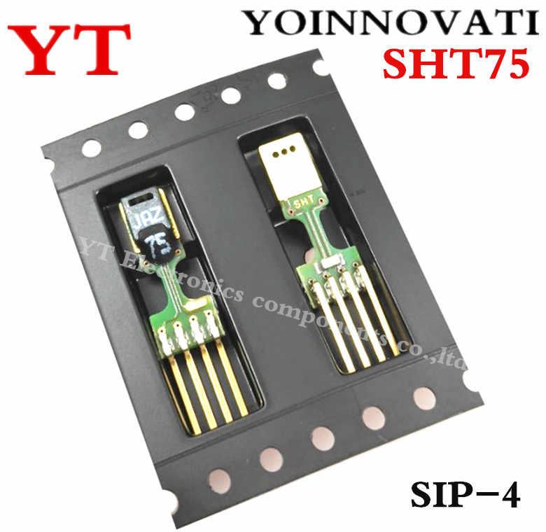Free shipping New and original SENSIRION Digital Humidity Sensor SHT75  SIP-4 Best quality