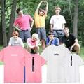 KPOP BTS Cápsula Para Sempre Jovem T Camisa K-POP Álbum 2016 Clássico da moda Roupas de Algodão T-shirt de Manga Curta Sólida k pop Tshirts
