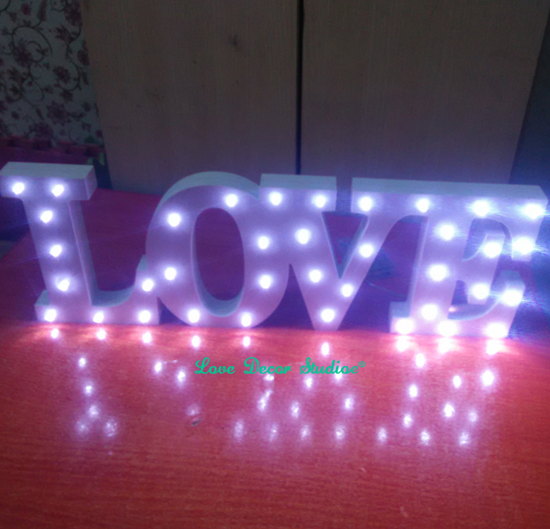white light love batteries operated not included led marquee sign light up