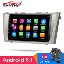 9 inch 2din Android 8.1 1G+16G car Radio for 2008-2011 Toyota Camry GPS Navigation 1024*600 Touch Bluetooth Phone Wifi FM AM RDS