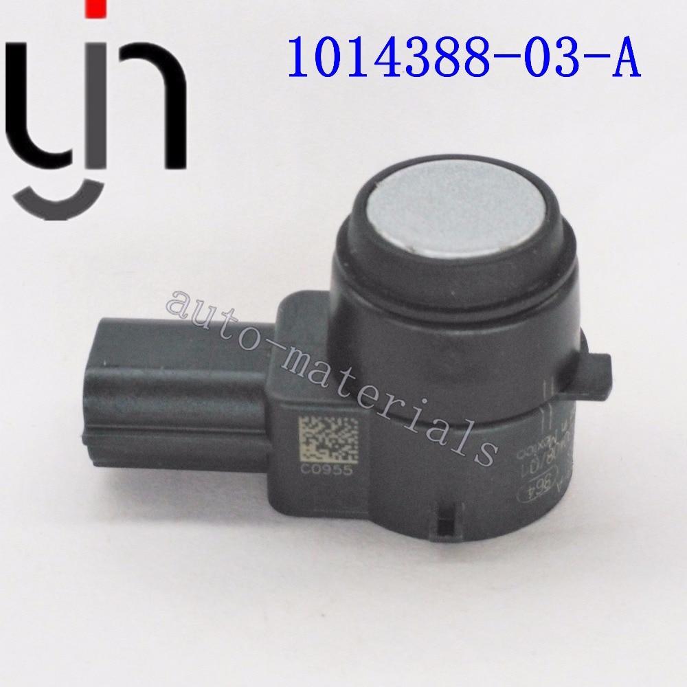 10PCS PDC car Parking Assist Sensor Genuine OEM 1014388 01 A 1014388 02 A 1014388 03