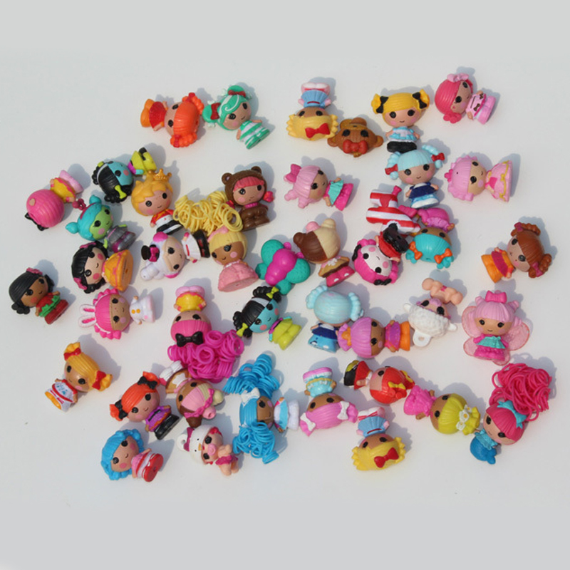10pcs Lot Mini Lalaloopsy Baby Doll Bulk Button Eyes Action Figure Children Toy Juguetes Brinquedos Toys For Girls In Dolls From