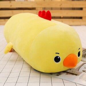 Image 4 - Juguete de peluche de unicornio para bebés, 1 unidad de 50/60/80CM, 10 estilos, mapache, juguete de foca de peluche, cojín almohada para dormir, muñecos de dibujos animados