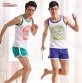 NEW Asianbum Men's cotton Home Furnishing suit Asianbum brand authentic home wear pajamas shorts set