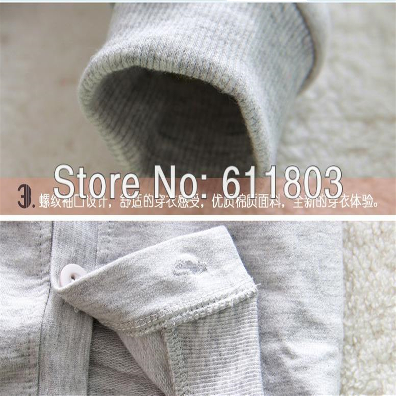 Spring autumn Infant cardigan baby kids coat air conditioning long sleeved V neck T shirt 100 cotton unisex tops 70 95cm in T Shirts from Mother Kids