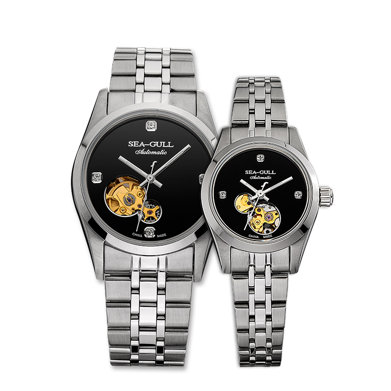 M149SK Automatic Mechanical Couple Watch Self Winding(Black Dial) аксессуар exegate usb a to microusb b 1 2m 169532