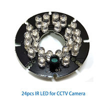 24pcs IR led board for infrared camera assembling