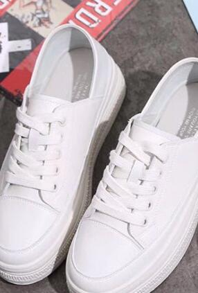 2018 nouvelles chaussures blanches dautomne K-352018 nouvelles chaussures blanches dautomne K-35