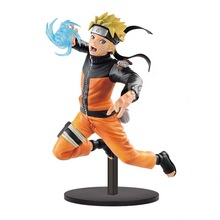 Original Naruto Shippuden Vibration Uzumaki  PVC Action figure toys model Figurals dolls