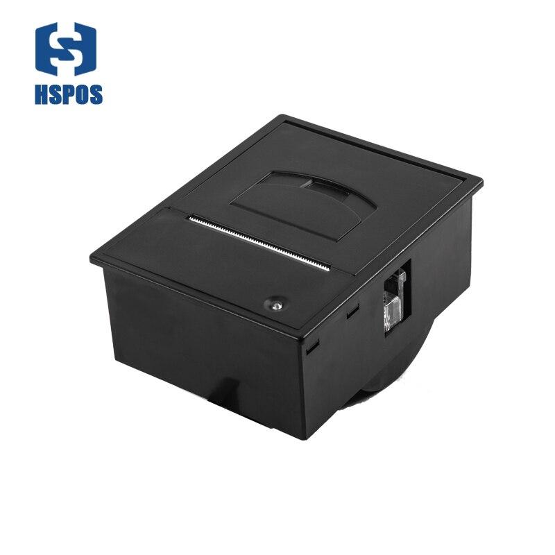 Offre spéciale panneau TTL ou RS232 58 imprimante à code-barres thermique support tiroir-caisse DC12V HS-K23