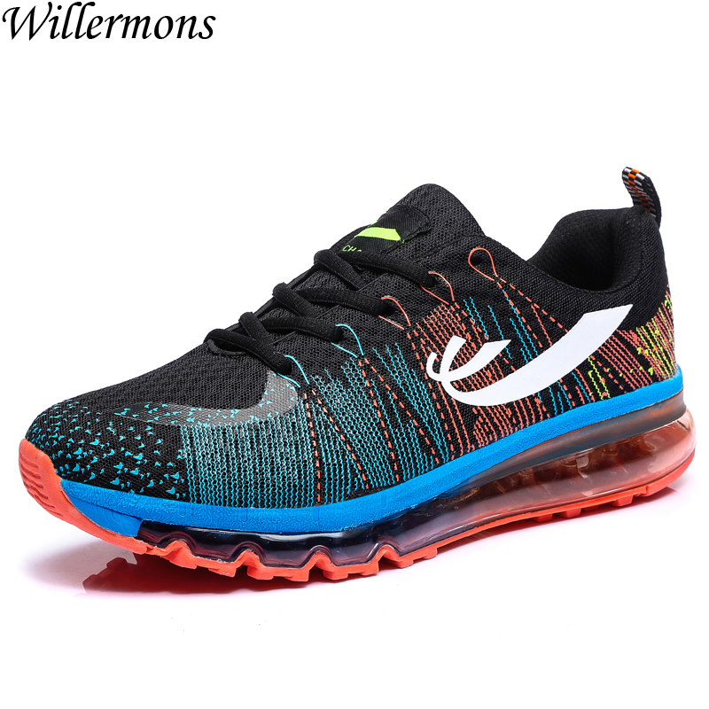 New Summer Men's Breathable Mesh Outdoor Sports Sneakers Shoes Running Men Air Cushion Athletic Shoes for Walking купить