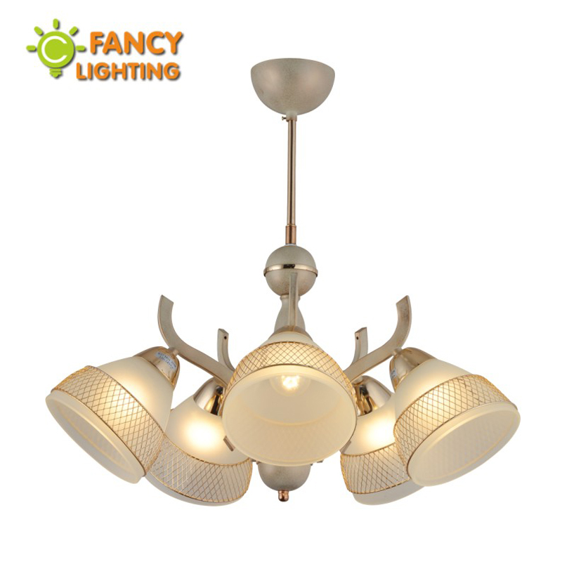 Nordic chandelier E27 Frosted Glass 3/5 head chandelier ceiling in the living room/bedroom/kitchen/Dining room chandelier led пазл бахус караваджо clementoni 1000 деталей