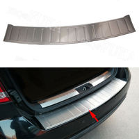 For Dodge Journey 2009 2010 2015 2016 2017 2018 Rear Trunk Outer Bumper Protector Sill Cover Trim Plate Decorative Accessories