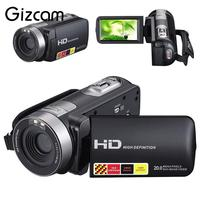 Gizcam HD 1080P Night Vision Digital Camera 16x Zoom Video Camcorder Cam Support Remote control photographique kamera camara