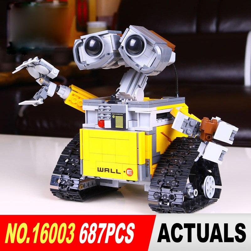 Top technique idée Robot mur E ensemble de construction Kits jouets briques éducatives blocs jouets pour enfants bricolage cadeau