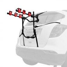 Car Bicycle Stand 3-Bike Trunk Mount Bike Racks for most Sedan,SUV,Hatchbacks,Minivans