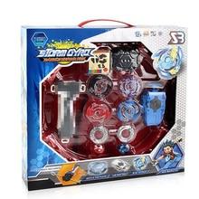 4pcs/set Tops Launchers Beyblade Burst packaging Box Gift Arena Toy Sale BeyBlade Bey blade Drain Fafnir