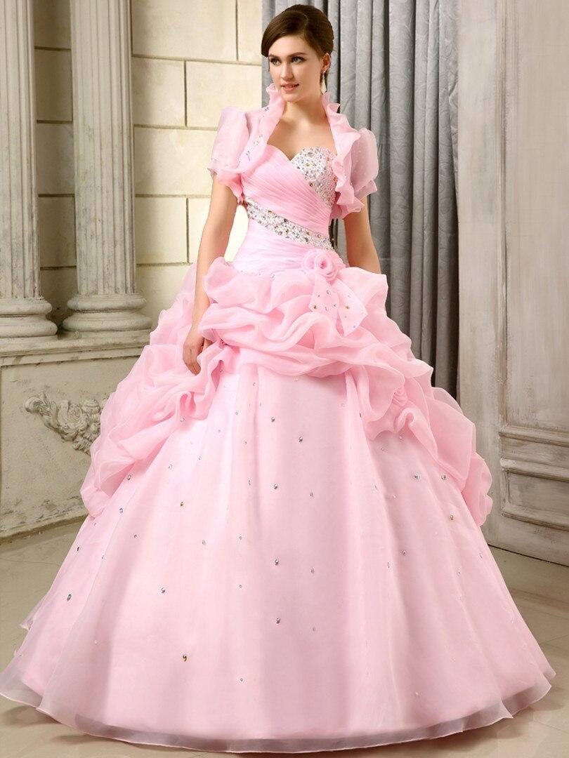 Atractivo Vestidos De Novia Princesa Corsé Friso - Ideas de Estilos ...