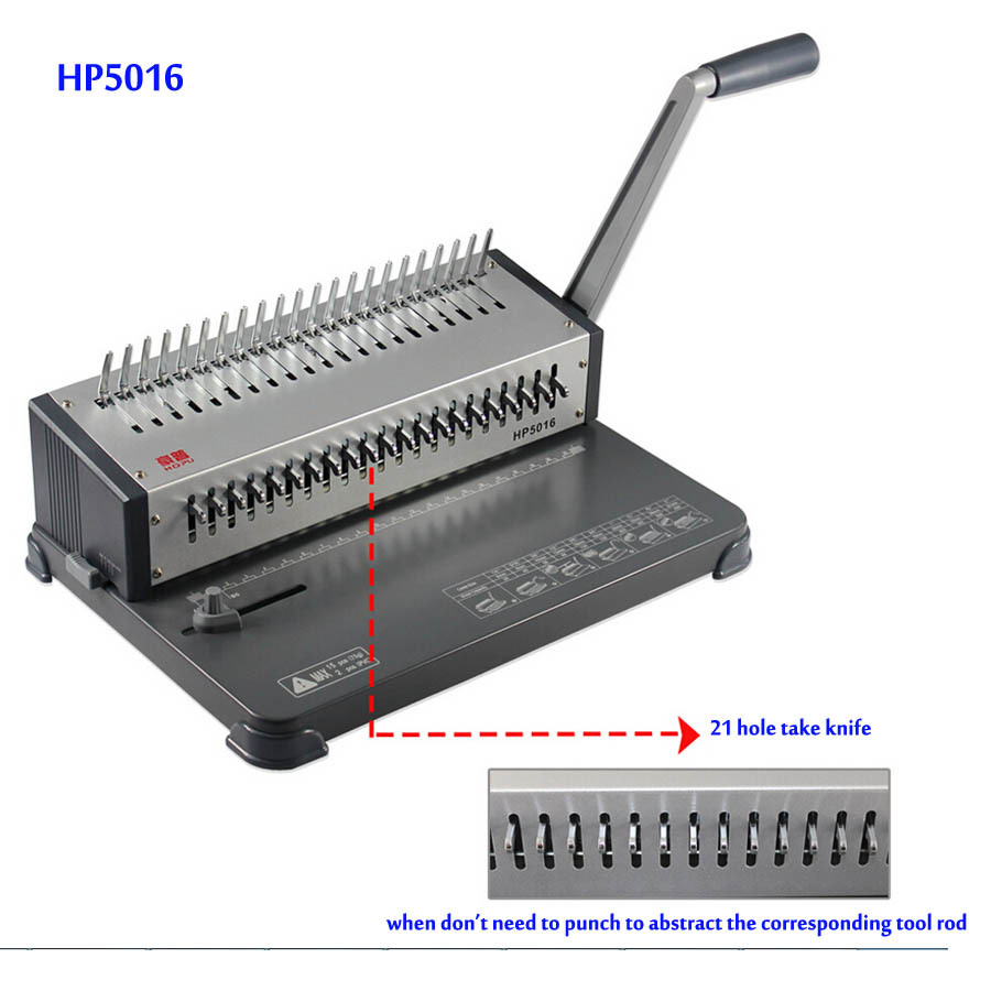 все цены на  HP5016 Comb Wire Binding Machine Manual Book Binders Folder binding machine  онлайн
