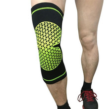 Quality Guarantee Warm Knee Protector Sports Tendon Training Elastic Knee Brace Supports polyester fibre  sponge Material Anne