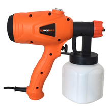 ZHUI TU Electric Spray Gun 350W 600W 220V High Power Home Paint Sprayer 3 Nozzle Handheld Adjustable