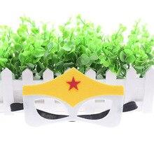 купить Wonder Woman The Flash Superhero mask Cosplay Batman Thor IronMan Princess Halloween Christmas kids adult Party Costumes Masks дешево